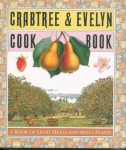 Crabtree & Evelyn cookbook -salat med spinat,  æble og valnød